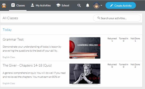 Website to Share Educational Activities Teachers