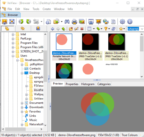 XnView image viewer