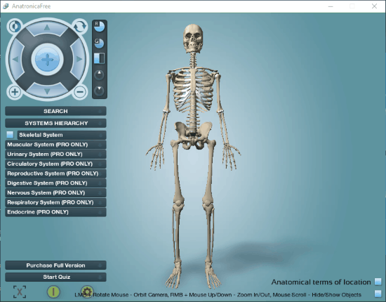 6 Best Free Human Anatomy Software For Windows 10