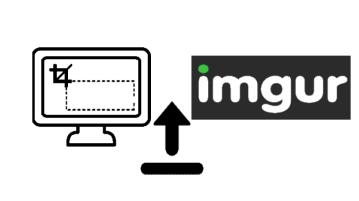 capture and upload screenshot to imgur