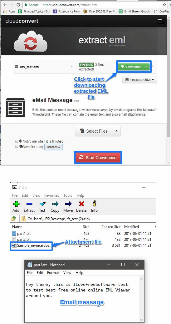 cloudconvert online eml viewer