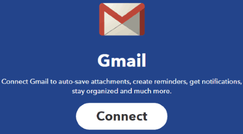 connect gmail to ifttt