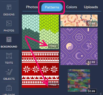 Crello Free Patterns