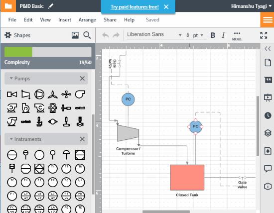 3 free websites to create process flow diagram online