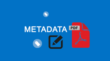 free pdf metadata editor software
