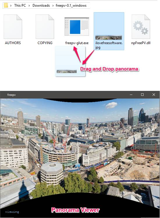freepv panorama viewer