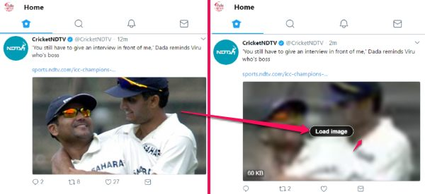 hide videos and images from twitter timeline