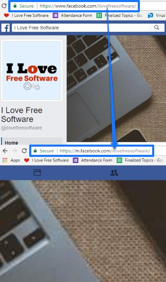 how to always load mobile websites in chrome pc