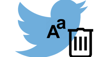 how to bulk delete Tweets with specific words