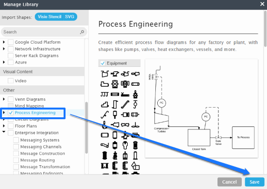 import process engineering symbols to draw pfd