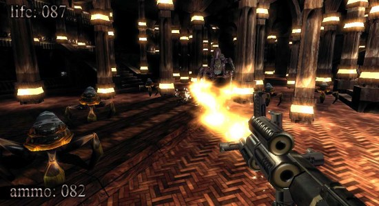 first person shooter game