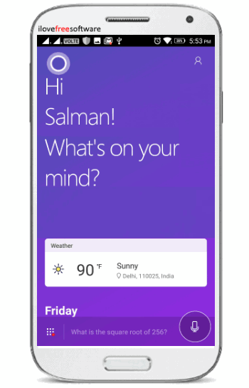make cortana default assistant on android