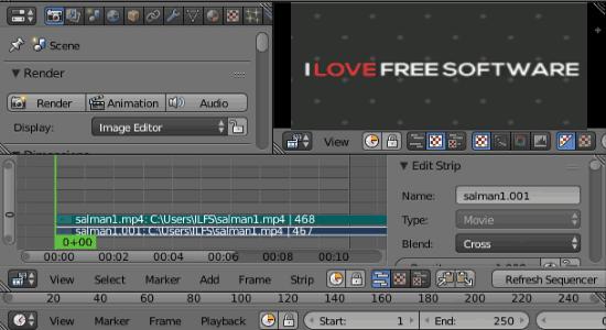 open source video editors