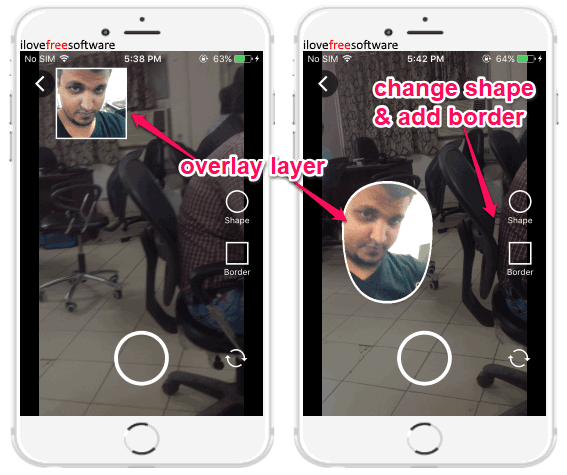 iPhone Picture in Picture App to Add Video to Another Video