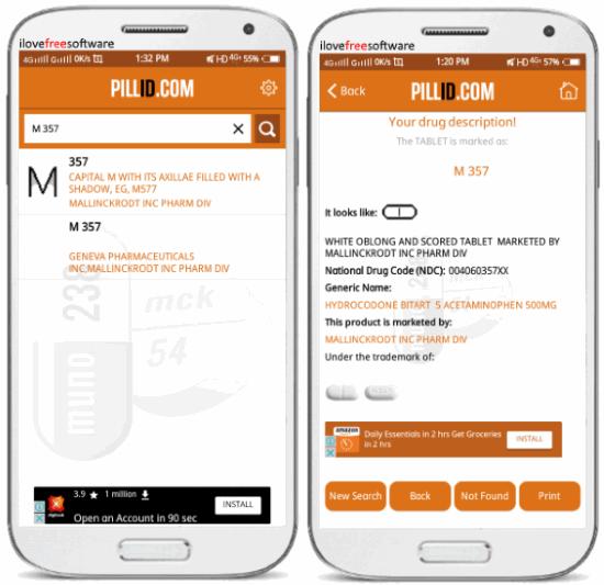 pill identification app