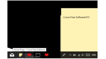 pin a website to taskar using microsoft edge in windows 10