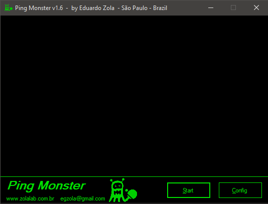 ping monster interface