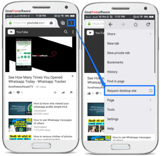 play youtube videos while screen off in android