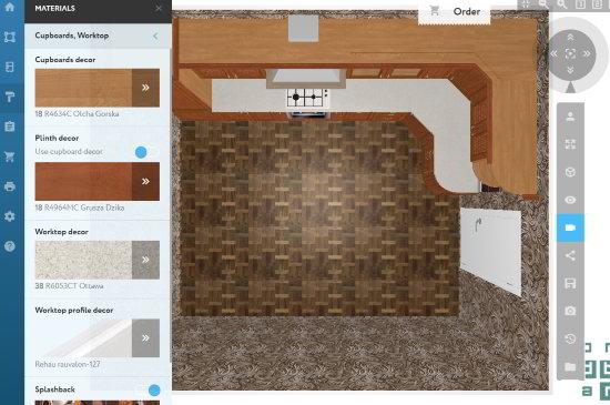 prodboard- online kitchen design website