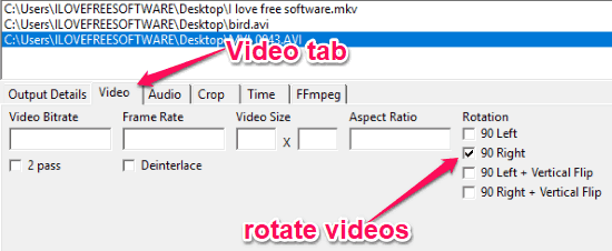 Rotate Multiple Videos At Once with 6 Free Batch Video Rotator