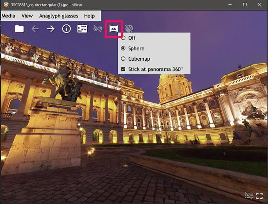 sView panorama viewer
