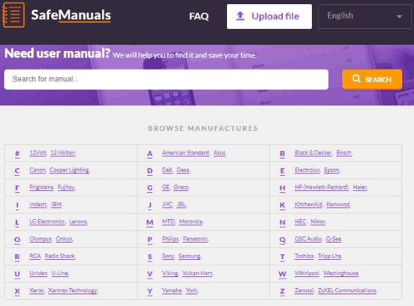 safe-manuals