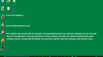 set text as desktop wallpaper in windows 10