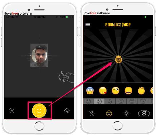 iphone apps to create emoji from photos