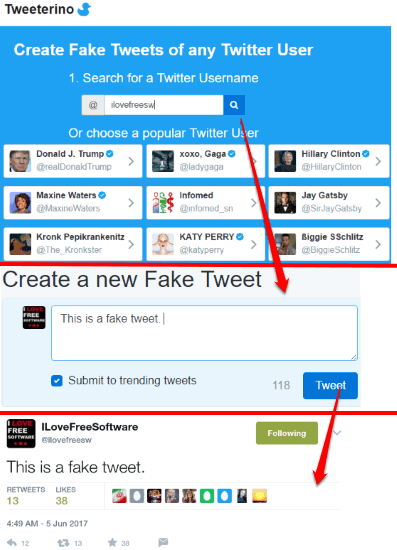 5 Free Fake Tweet Generator Websites
