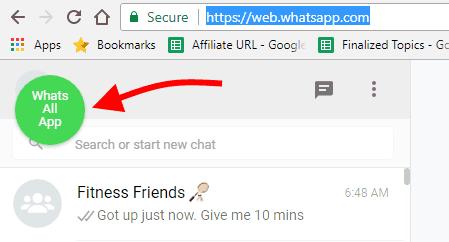 Whatsall Chrome Extension Icon