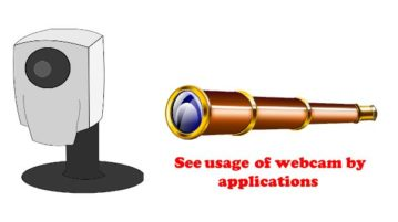Free Software to Detect use of Webcam by Applications