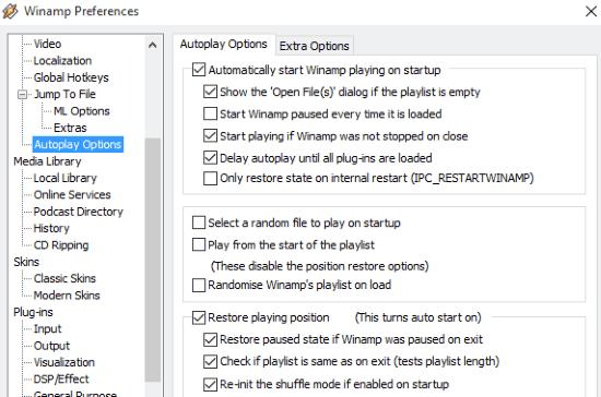 autoplay option