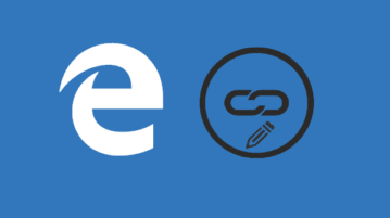 edit bookmarked urls in microsoft edge