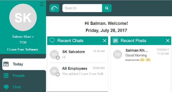 online team communication