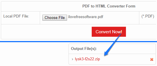 pdf to html5 converter online