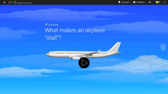 Airplane Stall - real world physics simulations