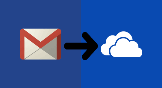 save gmail emails to onedrive