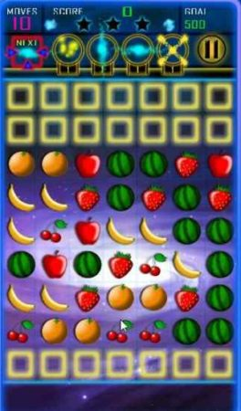 space fruits game board