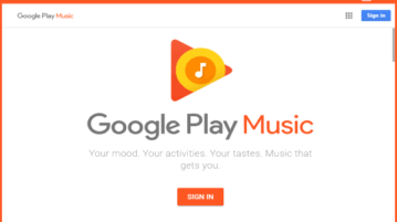 Google Play Music Desktop Player