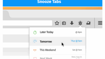 Snooze Tabs in Firefox
