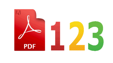 add page numbers to pdf online