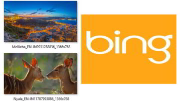 automatically save bing images to your windows 10 pc