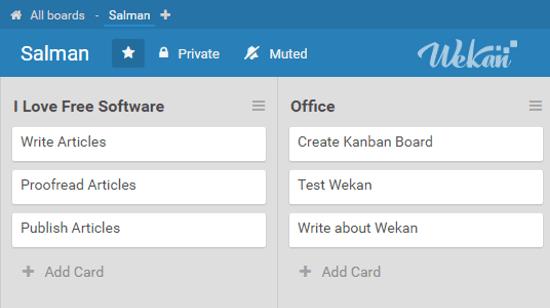 collaborative kanban board