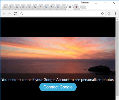connect your google account