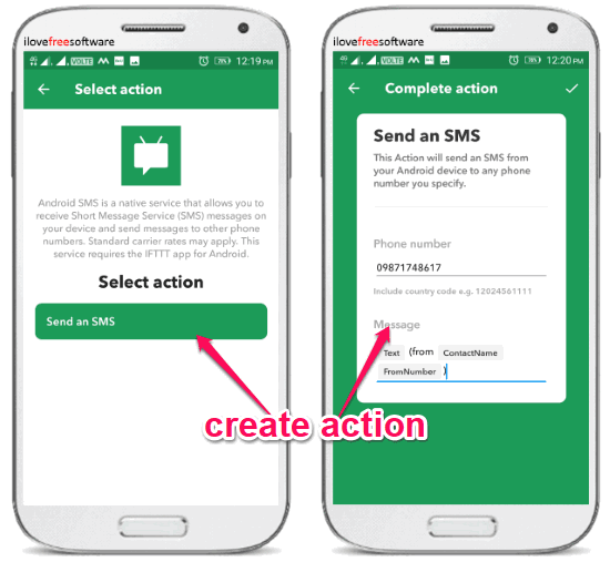 How to Forward SMS with Specific Text on Android to Another