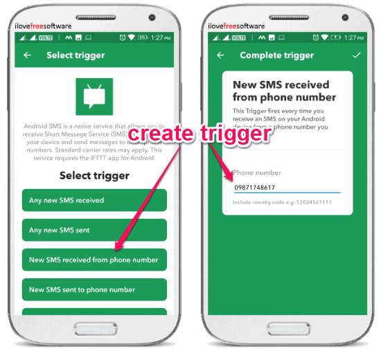 How to Forward SMS from Specific Contact on Android to