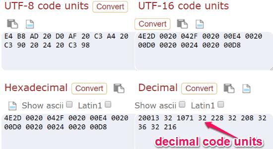 5 Free Online Unicode Character Converter