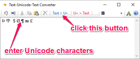 4 Free Unicode Character Converter Software for Windows