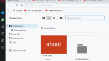 export bookmarks in opera desktop browser