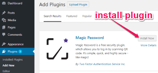 How to Login to WordPress without Entering Username and Password